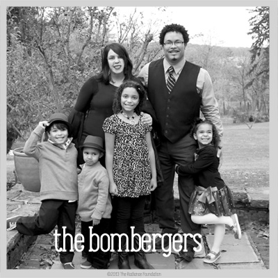 Bethany and Ryan Bomberger and their little munchkins are an adoptive family that loves the beauty of Possibility.