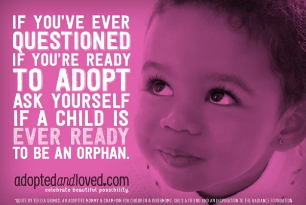 """READY TO ADOPT?"" by AdoptedandLoved.com"
